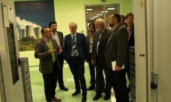 Zástupci MPO a ČEZ se zajímali o kompetence společnosti ZAT pro jadernou energetiku