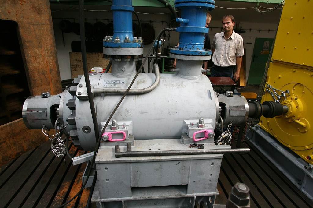 jaderná energie - SIGMA DIZ spol. sr.o. dodá do JE Kurská-2 čerpadla za 210 milionů korun - Nové bloky ve světě (erpadlo typů KNX4 Sgima 6 1024) 1