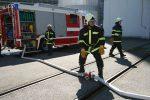 V Temelíně cvičili likvidaci rozsáhlého požáru