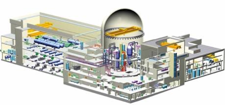 jaderná energie - Jasno ohledně jihokorejské technologie APR1400 pro evropský trh - Nové bloky ve světě (APR 1400 cutaway 460 Doosan) 2