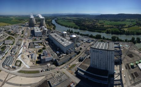 jaderná energie - Agentura MAAE potvrzuje závazek společnosti EDF ohledně bezpečnosti JE Bugey - Ve světě (Bugey plant 460 EDF) 1