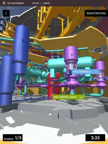 jaderná energie - Kreaktoru bez přilby a dozimetru – nová aplikace Jaderné elektrárny 3D umožňuje do detailů prohlédnout si to nejzajímavější z jaderek - V Česku (IMG 0254 740) 1