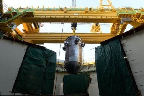 jaderná energie - Do druhého bloku JE Karáčí byla instalována tlaková nádoba reaktoru - Nové bloky ve světě (Karachi 2 RPV CNNC 1 460) 2