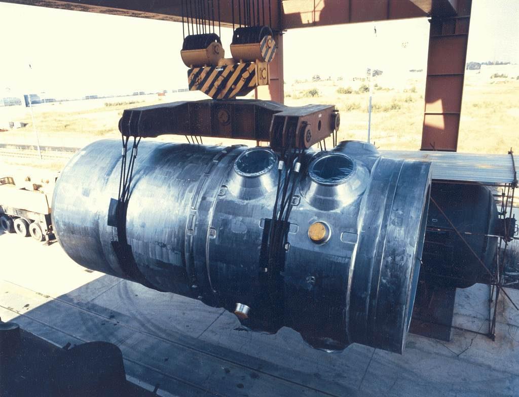 jaderná energie - iDnes: Obří díly pro nové bloky Temelína přivezou lodě po Vltavě, plánuje stát - Nové bloky v ČR (VVER 1000 překládací uzel Temelín1 1024) 1