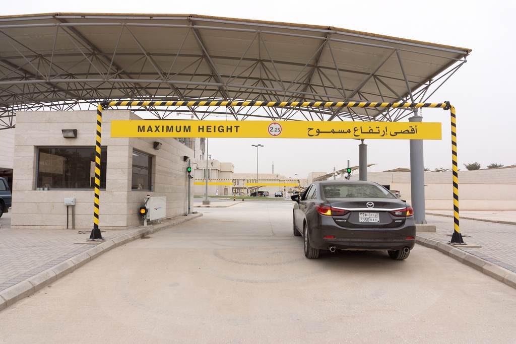 jaderná energie - NUVIA dodala portálové brány pro měření radiace doSaúdské Arábie - V Česku (portál Saudi 1 1024) 1