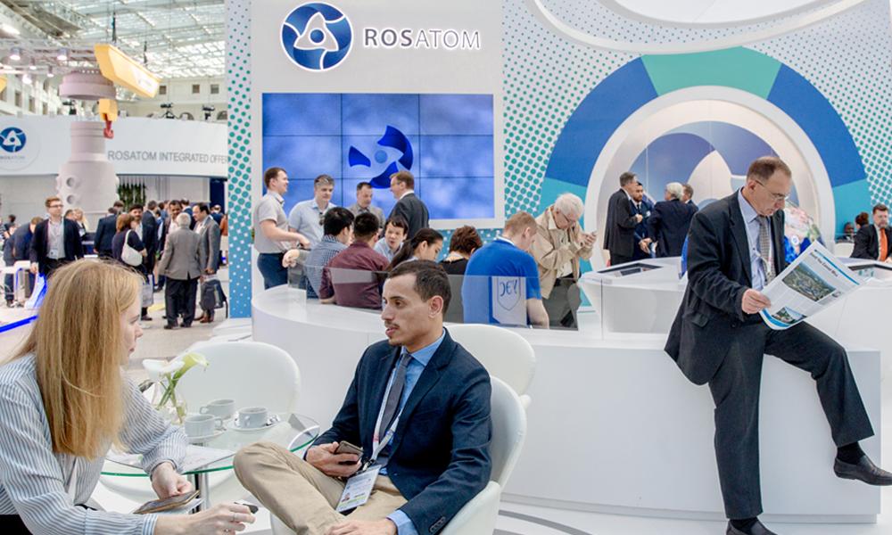 ATOMEX 2017 a AtomEco 2017 v Moskvě