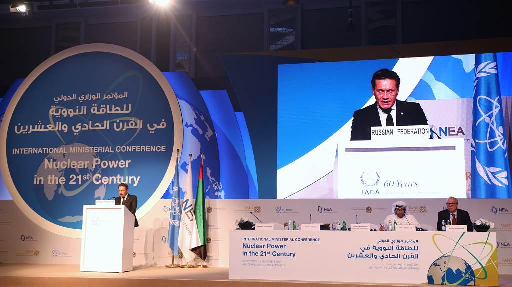 jaderná energie - Rosatom označil za priority jaderné energetiky bezpečnost a uzavřený palivový cyklus - Ve světě (AL1A0285 1024) 3