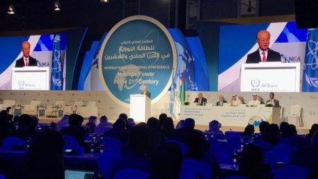 jaderná energie - Výzvy pro jaderný růst musejí být překonány, říká Amano - Ve světě (Amano opens Abu Dhabi ministerial conference 460 IAEA) 1