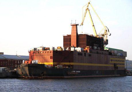 jaderná energie - Náklad pro ruskou plovoucí JE dorazil do Peveku - Ve světě (Cargo ship arrives at Pevek 460 Rosenergoatom) 1