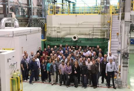 jaderná energie - Americký testovací reaktor obnovil provoz - Ve světě (TREAT 460) 1