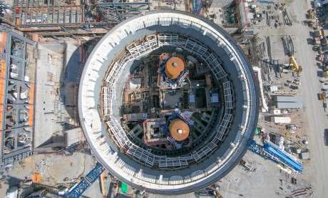 jaderná energie - Komise Public Service Commission zahájila slyšení ohledně JE Vogtle - Nové bloky ve světě (Vogtle3 containment oct2017 460) 2