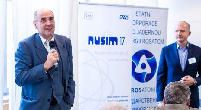 NUSIM 2017: Bezpečnost provozu jaderných elektráren jako klíčová vlastnost pro další vývoj