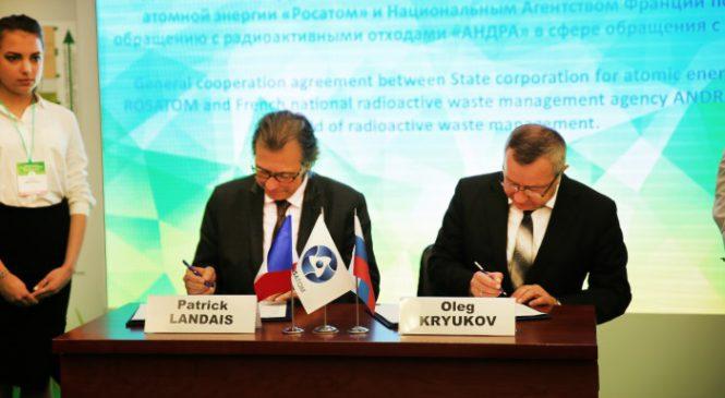 Francie bude spolupracovat s Rosatomem při správně radioaktivního odpadu