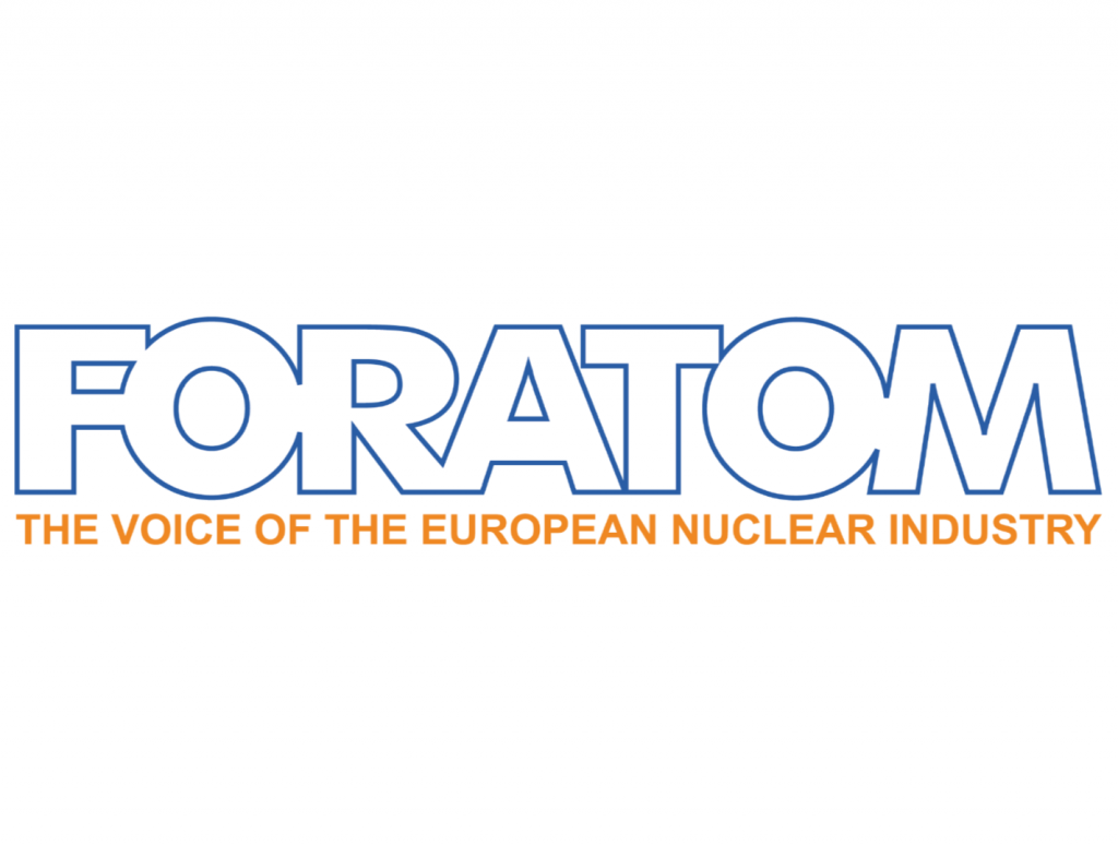 jaderná energie - WNA v Bruselu nastínila vizi energetiky budoucnosti - Nové bloky ve světě (Foratom logo) 1