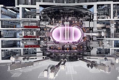 jaderná energie - Fúzní reaktor ITER prošel dalším stavebním milníkem - Ve světě (Iter tokamak 460 Iter) 1