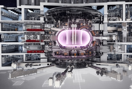 jaderná energie - Fúzní reaktor ITER prošel dalším stavebním milníkem - Ve světě (Iter tokamak 460 Iter) 2