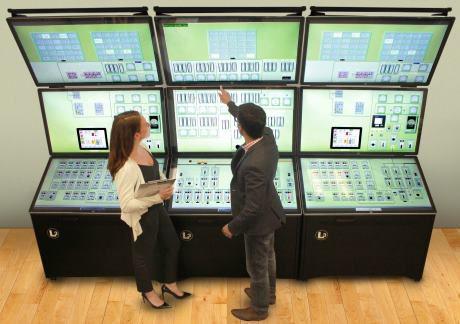 jaderná energie - Společnost L3 MAPPS poskytne firmě EDF Energy další simulátory - Ve světě (Orchid Touch Interface bays L3 MAPPS 460) 1