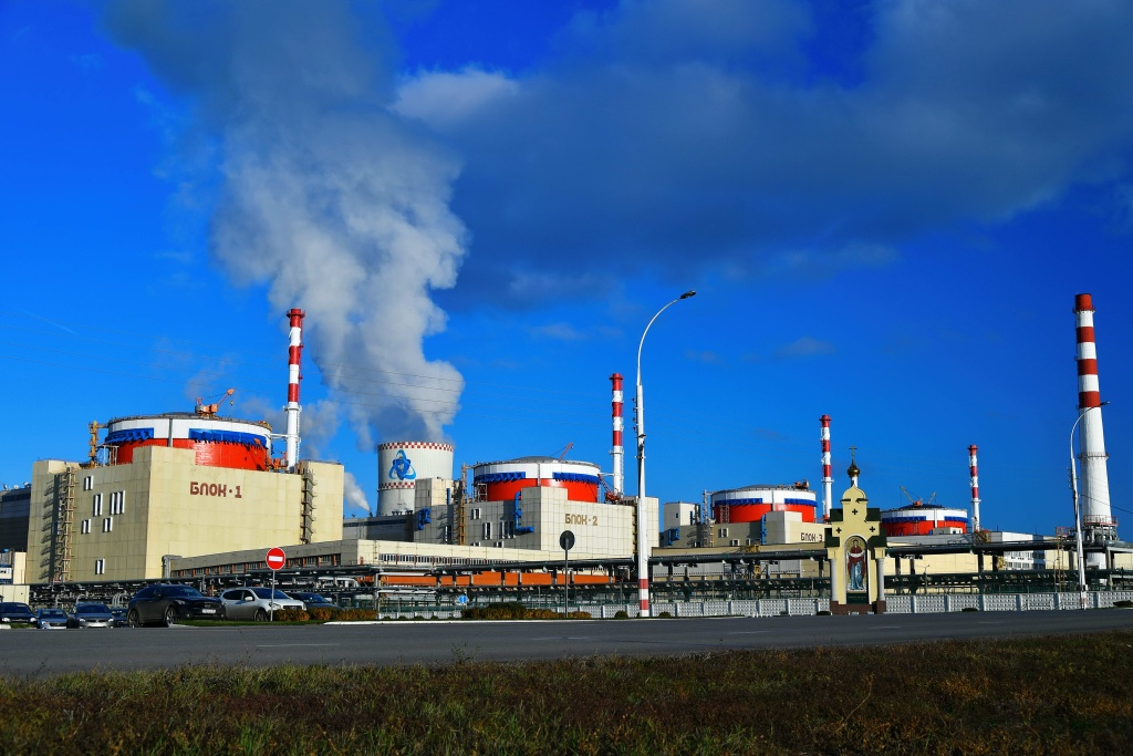 jaderná energie - V Rusku začalo fyzikální spouštění 4. bloku Rostovské JE - Nové bloky ve světě (Rostovská vnějšek 1024) 2