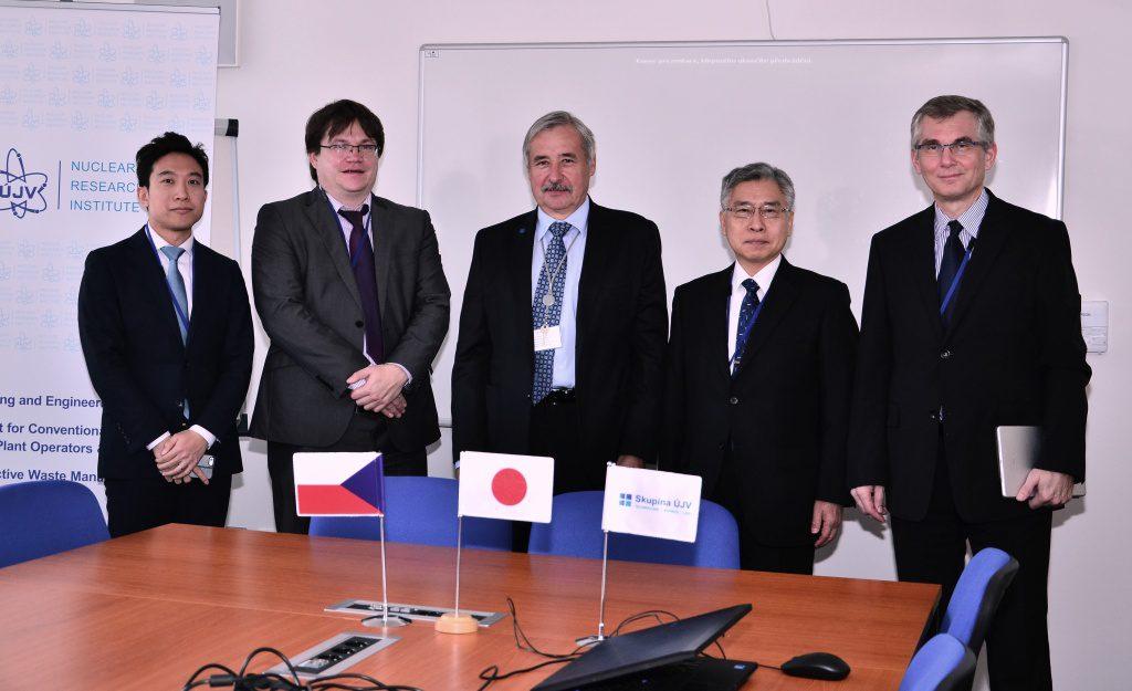 jaderná energie - O japonské spolupráci v Řeži - JE Fukušima (UJV vevyslanecJAP 01 1024) 1