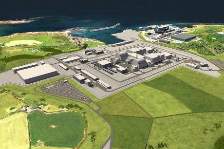 jaderná energie - Design reaktoru ABWR společnosti Hitachi-GE byl schválen pro použití ve Spojeném království - Nové bloky ve světě (Wylfa Newydd CGI 460 Horizon) 1
