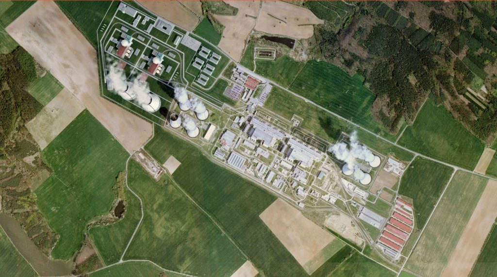 jaderná energie - Rozhlas: Dukovany jsou na sto let, takže mysleme na nezávislost, říká o jaderných plánech Česka expert - Nové bloky v ČR (edu letecky CEZ) 1