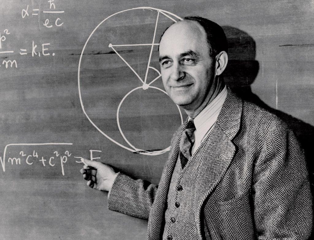 jaderná energie - Před 75 lety provedl Fermi první jadernou řetězovou reakci - Ve světě (fermi) 1