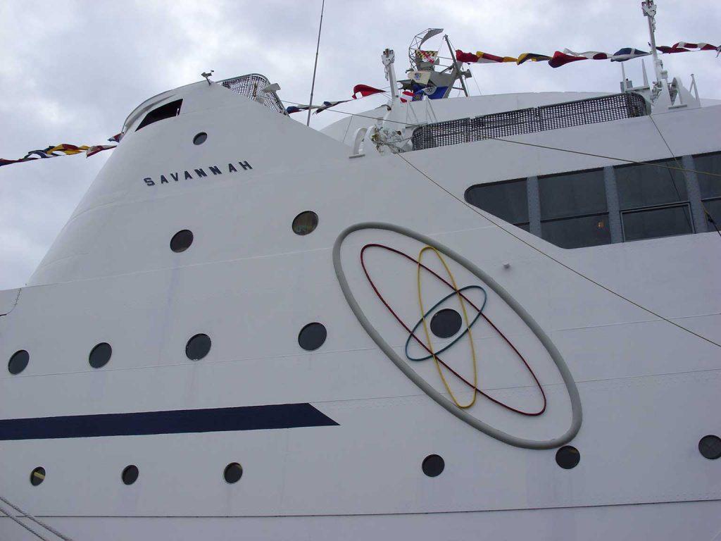 jaderná energie - Pět rychlých faktů o nákladních lodích s jaderným pohonem - Jádro na moři (2013May18 NSSavannah 2) 2