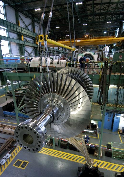 jaderná energie - E15: Turbínu šijeme kupci na míru - V Česku (4 740) 1