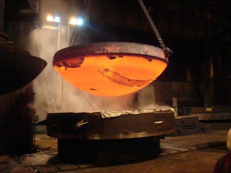 jaderná energie - Závod Le Creusot obnovil výrobu výkovků - Ve světě (Areva Creusot Forge 460 ASN) 1