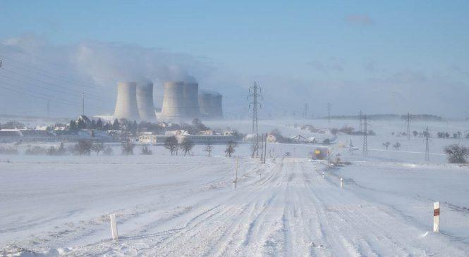 Jaderné elektrárny zvýšily výrobu o patnáct procent