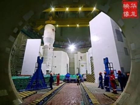 jaderná energie - Do pátého bloku JE Fu-čching byly nainstalovány parogenerátory - Nové bloky ve světě (Fuqing 5 third SG installation 460 CNNC) 2