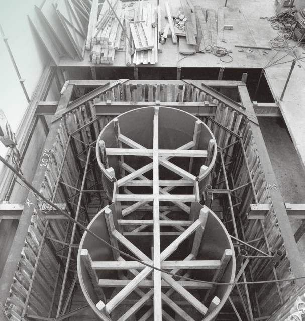 jaderná energie - iMateriály: Kontrola betonu biologického stínění jaderného reaktoru - V Česku (H01H02 tesne pred zaliti betonem) 1
