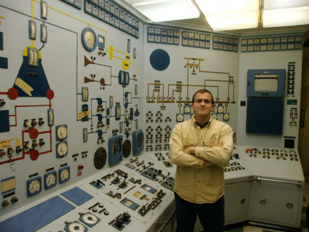 jaderná energie - Pět rychlých faktů o nákladních lodích s jaderným pohonem - Jádro na moři (NS Savannah Ben in Control Room) 3