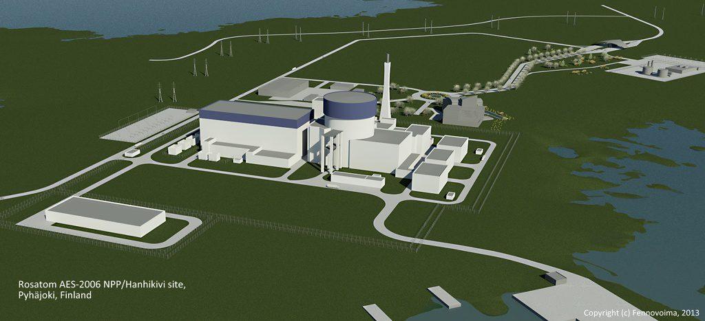 jaderná energie - Finská vláda rozhodne o licenci pro JE Hanhikivi nejdříve v roce 2019 - Nové bloky ve světě (ROSATOM1 at Hanhikivi 1024) 1