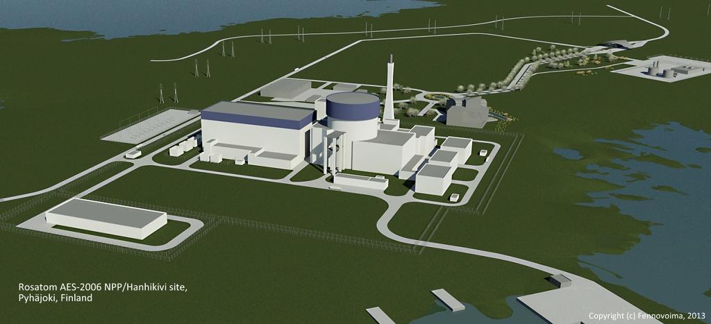 jaderná energie - Finská vláda rozhodne o licenci pro JE Hanhikivi nejdříve v roce 2019 - Nové bloky ve světě (ROSATOM1 at Hanhikivi 1024) 3