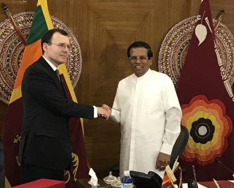 jaderná energie - Rusko a Srí Lanka plánují spolupracovat v oblasti jaderné energie - Ve světě (Russia Sri Lanka January 2019 460 Rosatom) 2