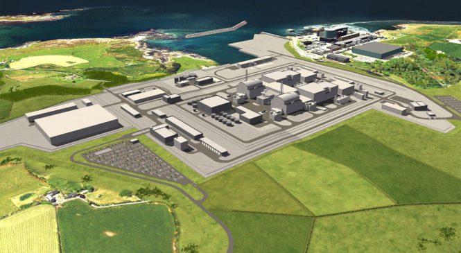 Spojené království a Japonsko společně pro veřejné financování výstavby JE Wylfa