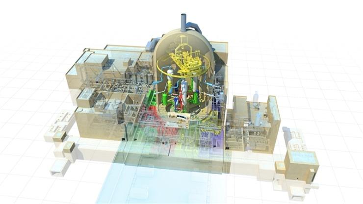 jaderná energie - Žádost o EIA pro JE Sinop je připravena - Nové bloky ve světě (atmea 1 reactor 740) 1