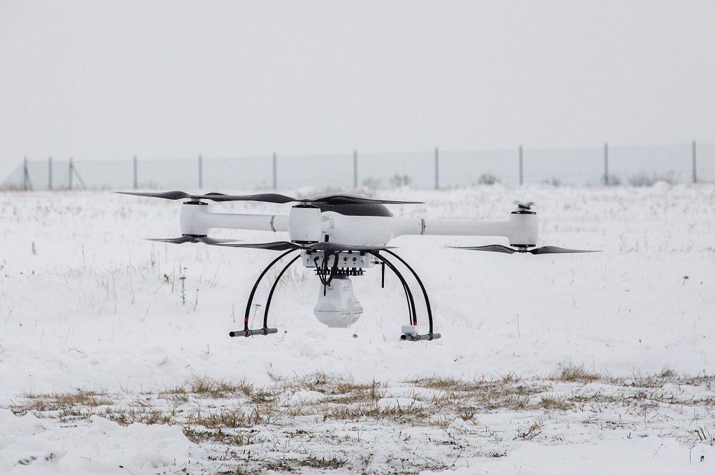 jaderná energie - Nuvia předvedla systém pro přesné měření radiace pomocí dronu - V Česku (DSC 7304 1024) 1