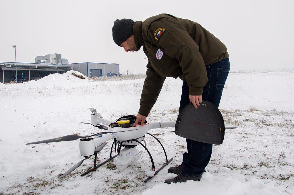 jaderná energie - Nuvia předvedla systém pro přesné měření radiace pomocí dronu - V Česku (DSC 7312 1024) 6