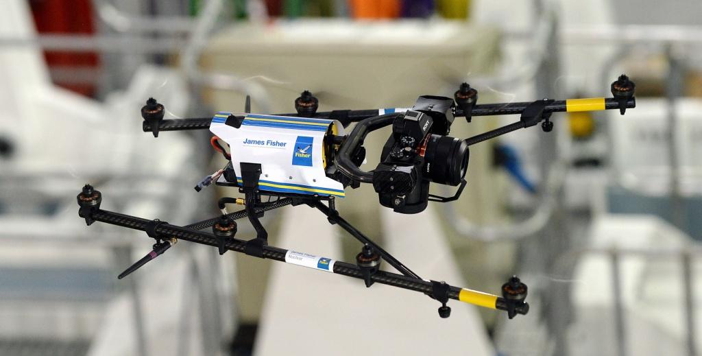 jaderná energie - Dron prozkoumá vnitřní prostory Fukušimské elektrárny - JE Fukušima (Drone 1024) 3