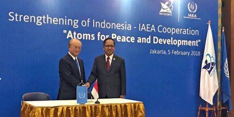 jaderná energie - Indonésie a agentura MAAE posilují spolupráci - Ve světě (IAEA Indonesia February 460 2018 IAEA) 1