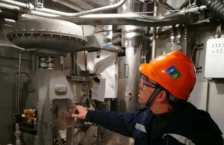 jaderná energie - Ve druhém bloku JE San-men byly dokončeny horké testy - Nové bloky ve světě (Sanmen 2 hot tests completed 460 SNPTC) 1