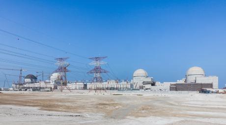 jaderná energie - Regulační zábrany ve vydání licence pro JE Barakah - Nové bloky ve světě (The four units of ENECs Barakah plant 460) 3