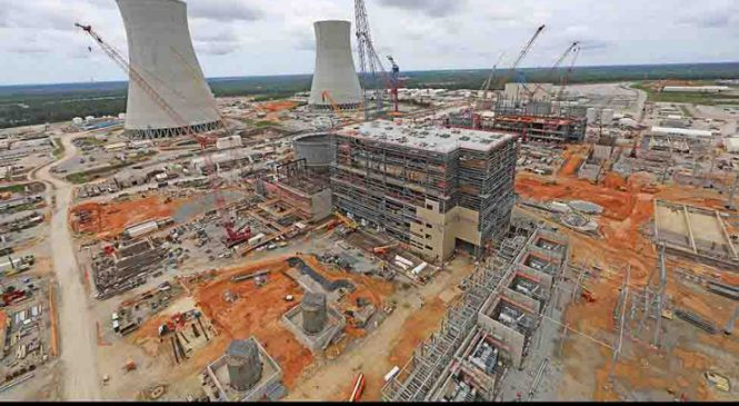 Americký rozpočet zahrnuje podporu pro JE Vogtle a malé reaktory