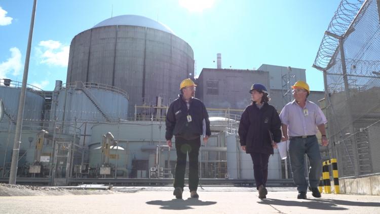 jaderná energie - Agentura MAAE provedla přezkum provozní bezpečnosti u 200. jaderné elektrárny - Ve světě (almaraz osart mission) 2