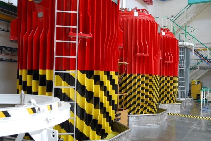 jaderná energie - Spoločnosť JAVYS, a. s., vykonala v januári 2018 tri prepravy VJP a prepravila 115 palivových kaziet VJP - Back-end (msvp dsc 0902 740) 1