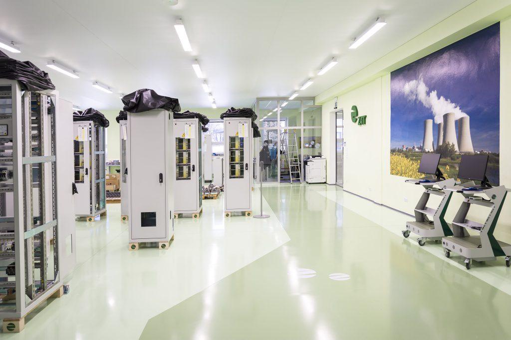 jaderná energie - Novinky vřídicích systémech pro energetiku a průmysl pro rok 2018 - V Česku (nové prostory pro výrobu a kompletaci rozvaděčů 1024) 3