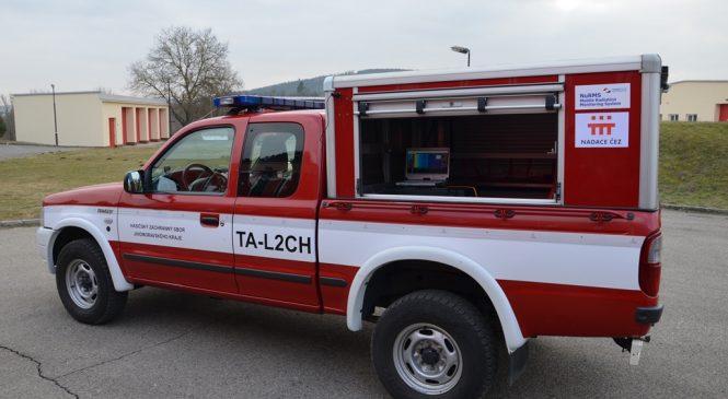 Dodávka mobilního monitorovacího systému jednotkám Integrovaného záchranného systému
