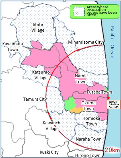 jaderná energie - iRozhlas: Od pohromy v japonské Fukušimě uplynulo 7 let. 70 tisíc Japonců žije dodnes v ubytovnách - JE Fukušima (101826) 2